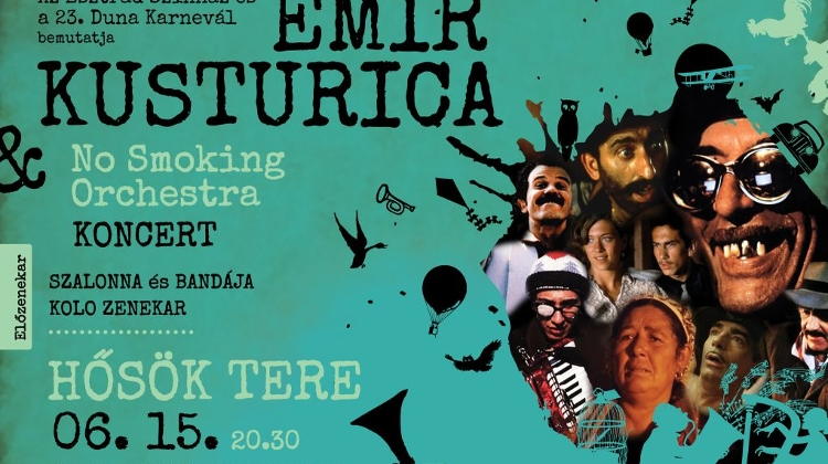 Emir Kusturica & The No Smoking Orchestra, 15 June