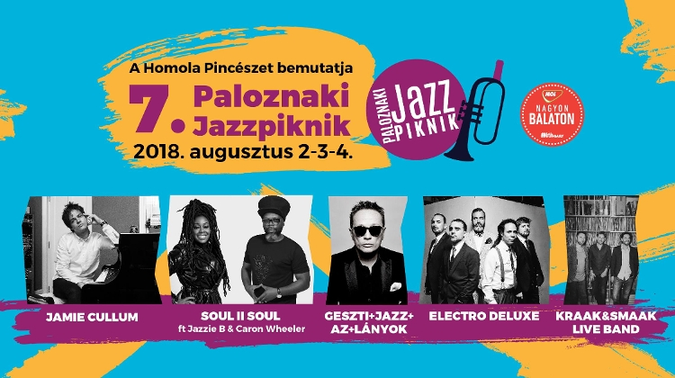Jazz Picnic, Paloznak, 2 - 4 August