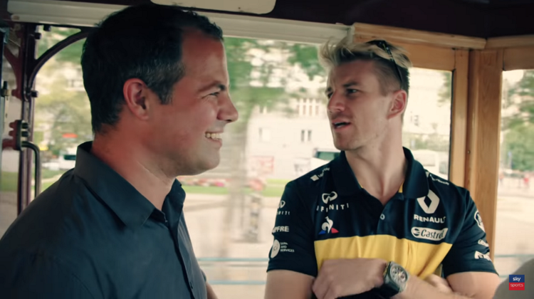 Video: Nico Hulkenberg Drives A Tram Around Budapest