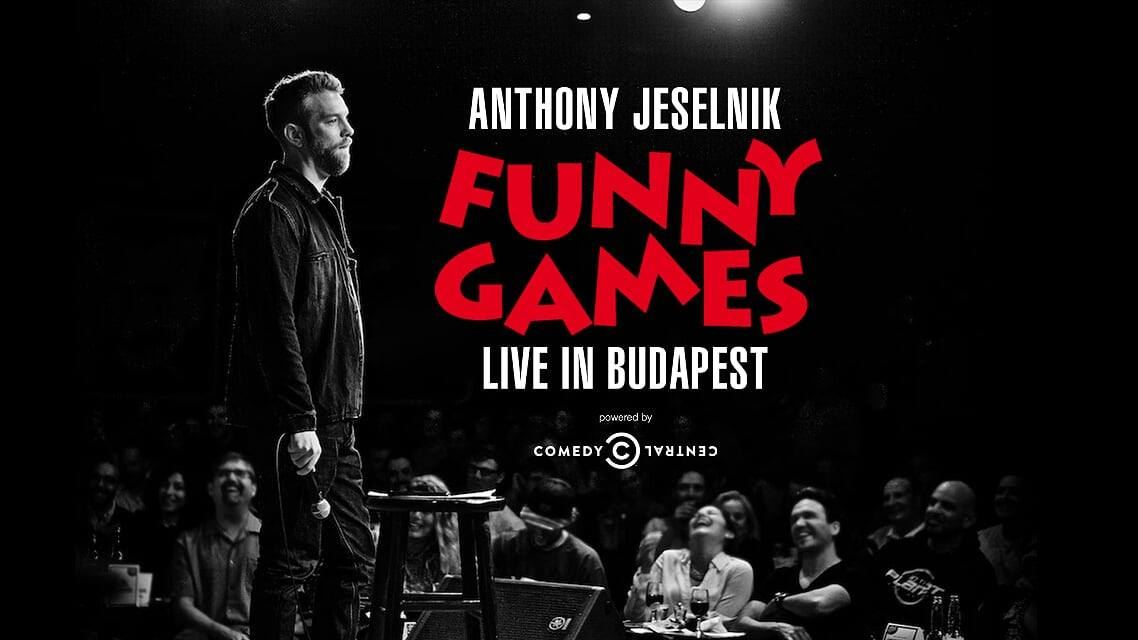 'The Poetry Of Shock',  U.S. Comedian Anthony Jeselnik In Budapest, 4 September