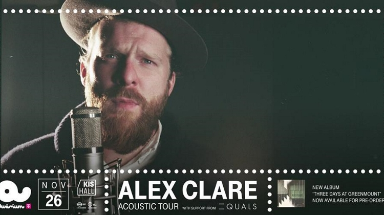 Alex Clare, Akvarium Club, 26 November
