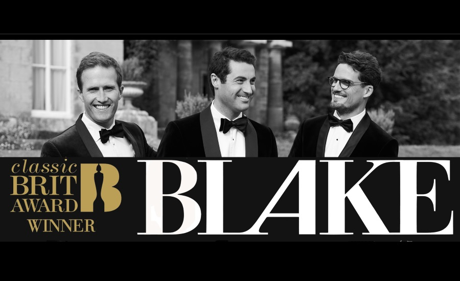 Brit-Award Winning Vocal Group Blake Comes To Hungary In January