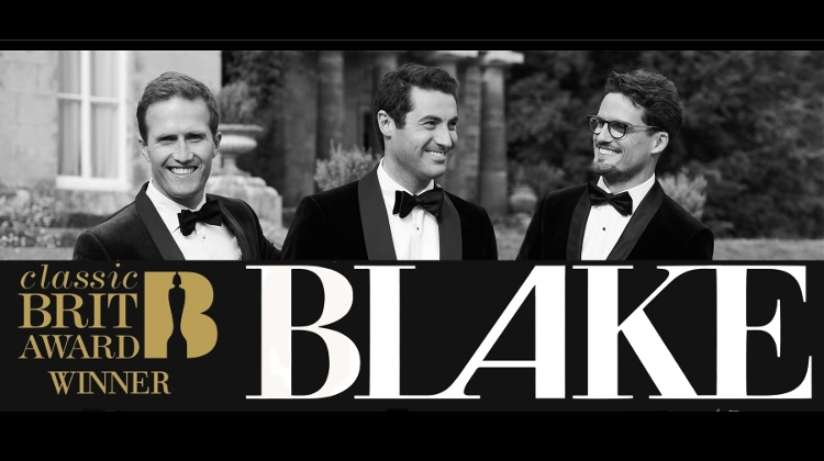 Brit-Award Winning Vocal Group 'Blake' Concerts, 18 – 19 January