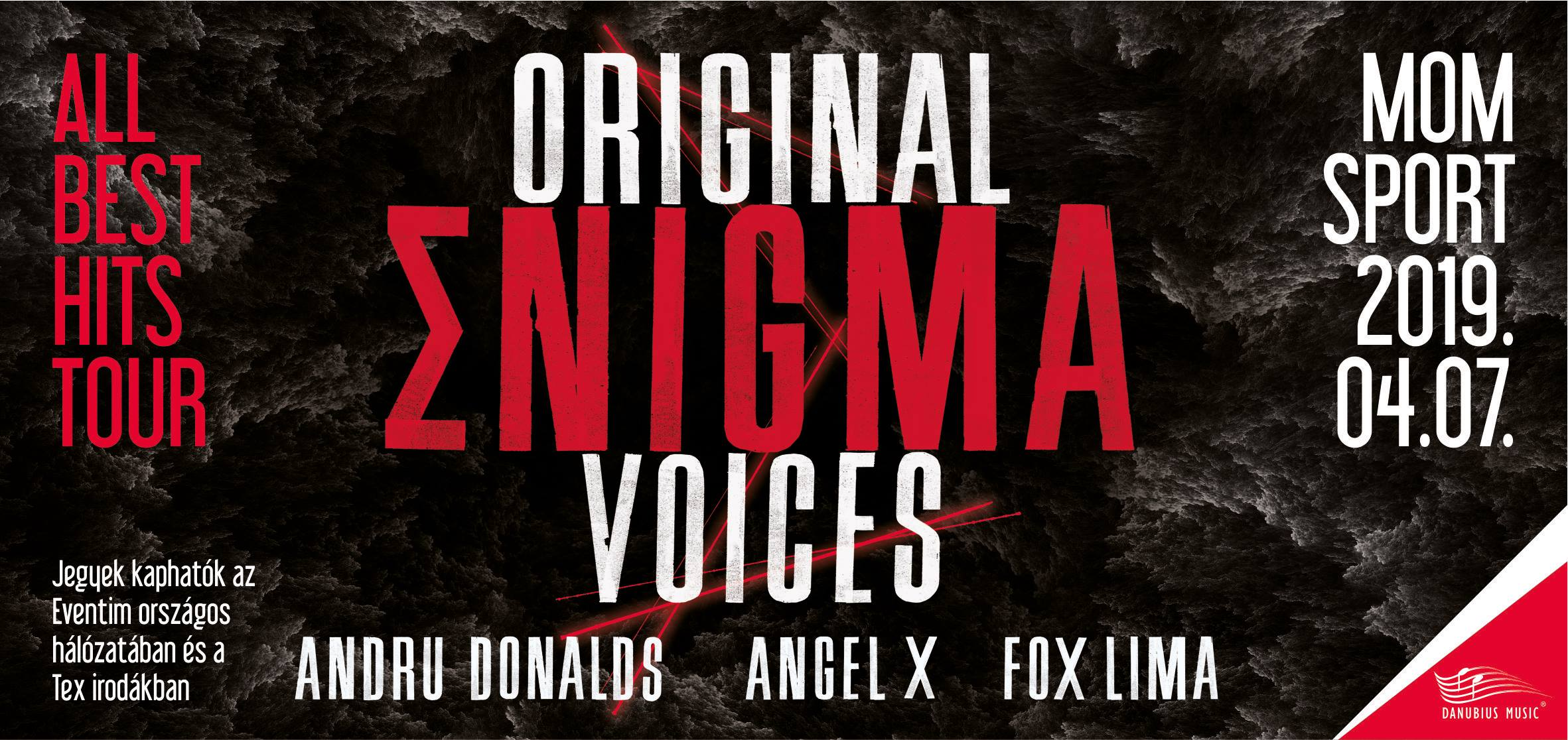Original Enigma Voices To Come To Budapest, 7 April