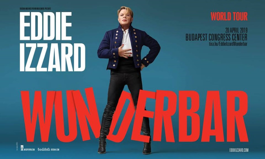 Eddie Izzard To Perform In Budapest, 20 April