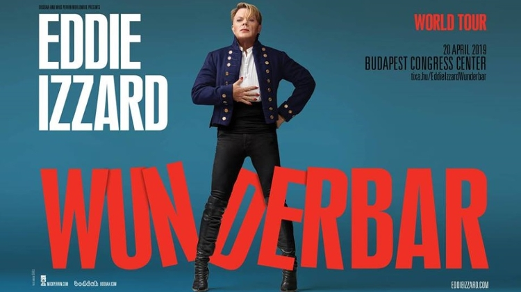 Eddie Izzard Performs Live In Budapest This Saturday