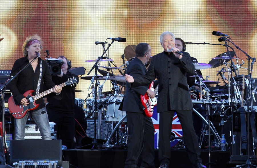 Tom Jones Concert, Budapest Arena, 22 June