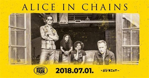Concert: Alice In Chains, Budapest Park, 1 July