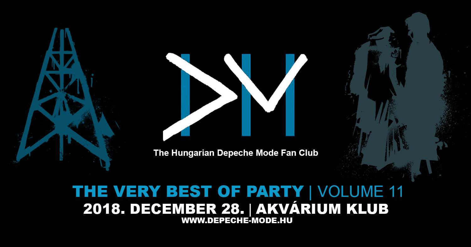 Hungarian Depeche Mode Fan Club Party @ Akvarium