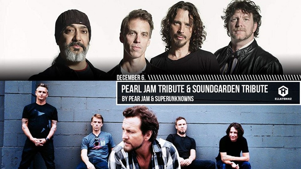 Pearl Jam & Soundgarden Tribute By Pear Jam & Superunknowns @ ELLÁTÓház