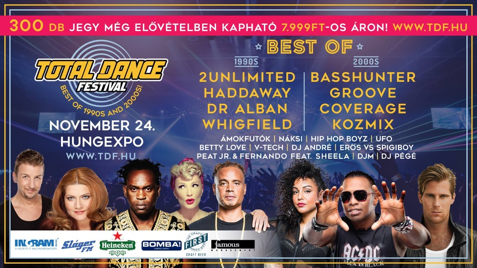Total Dance Festival: Best of 90s & 00s @ Hungexpo