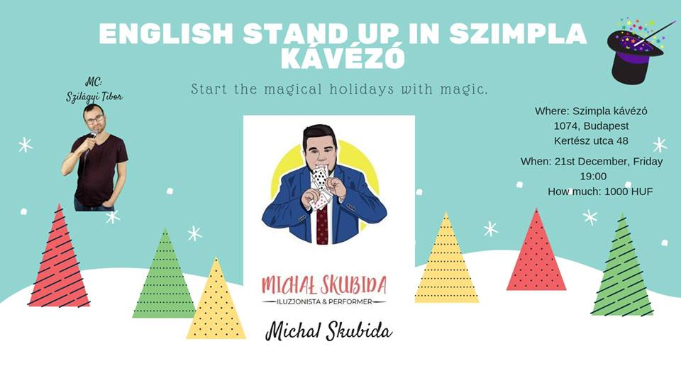 English Stand Up: Magic With Skubi