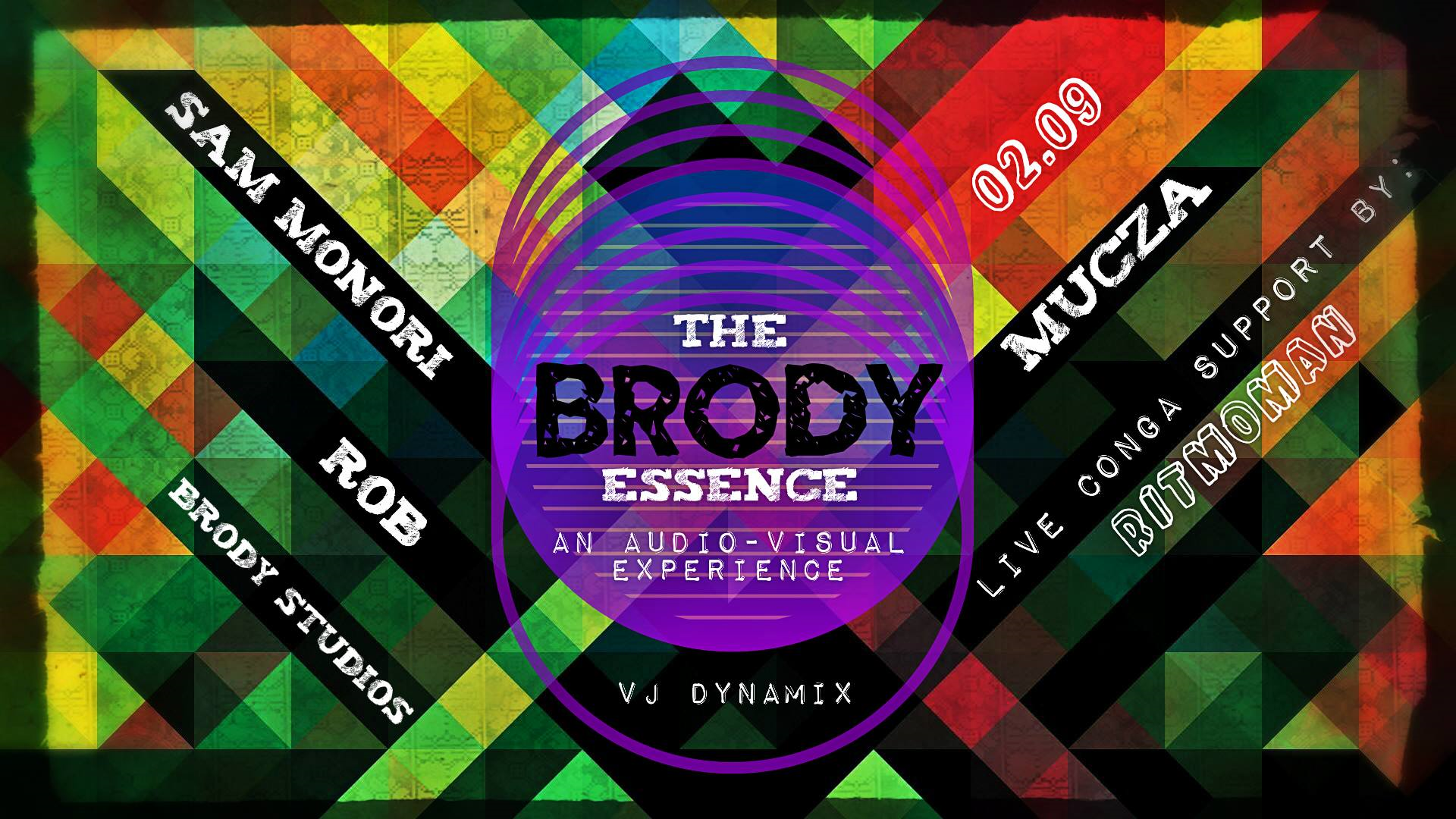 'Brody Essence - An Audio - Visual Experience', Brody Studios, 9 February