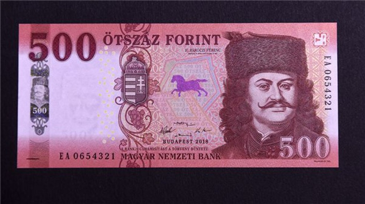 New 500 Forint Launched