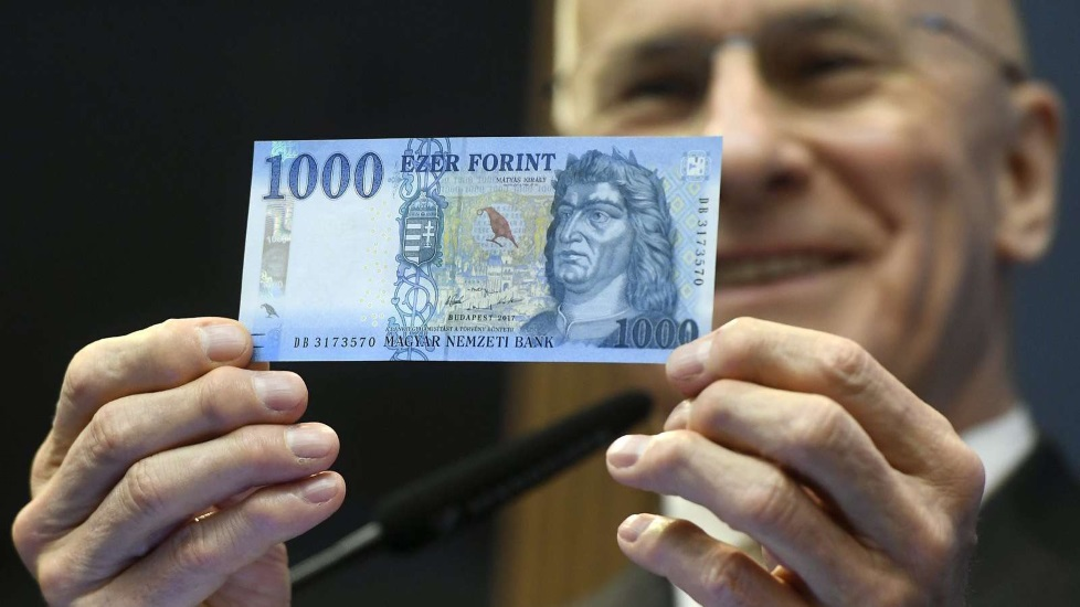HUF 1,000 Banknotes To Be Withdrawn