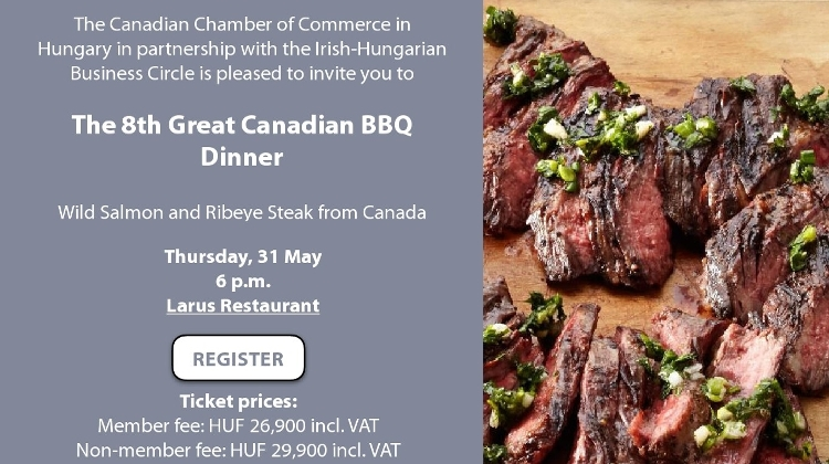 Invitation: Canadian Chamber 'Steak BBQ Dinner', 31 May