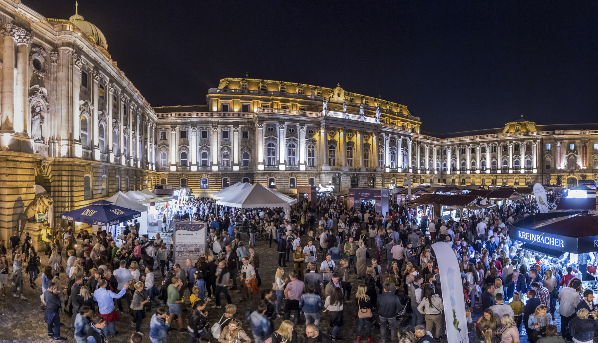 'Budapest Wine Festival', Royal Castle, 6 - 9 September