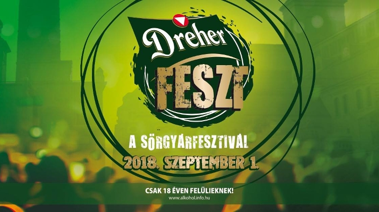 5th 'Dreher Brewery Fest' In Budapest, 1 September
