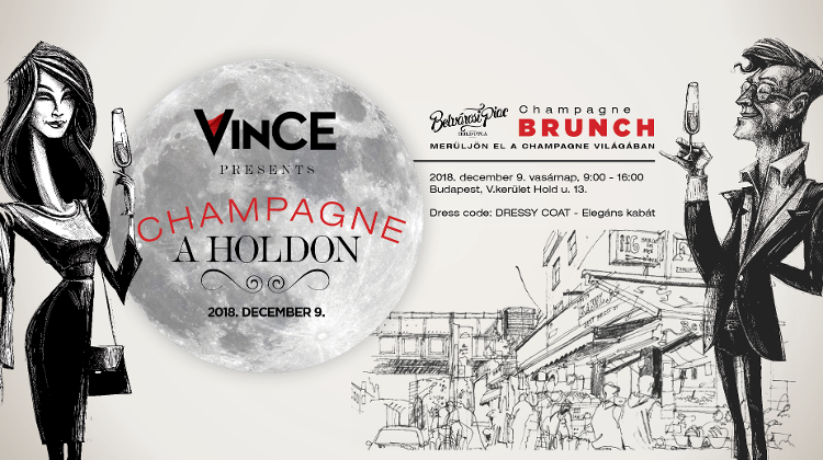 VinCE Champagne Event @ Hold Utca Market, 9 December