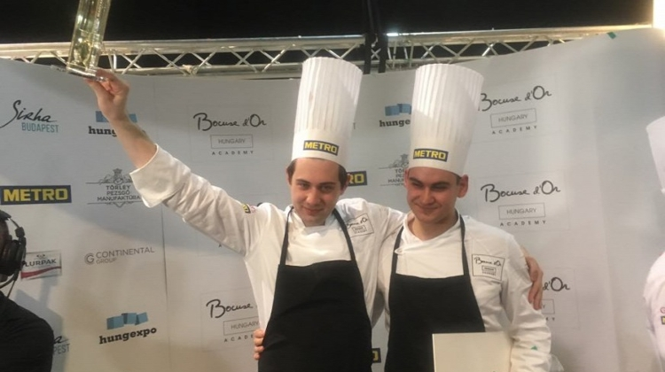 Chef From Balatonszemes Wins Bocuse d'Or