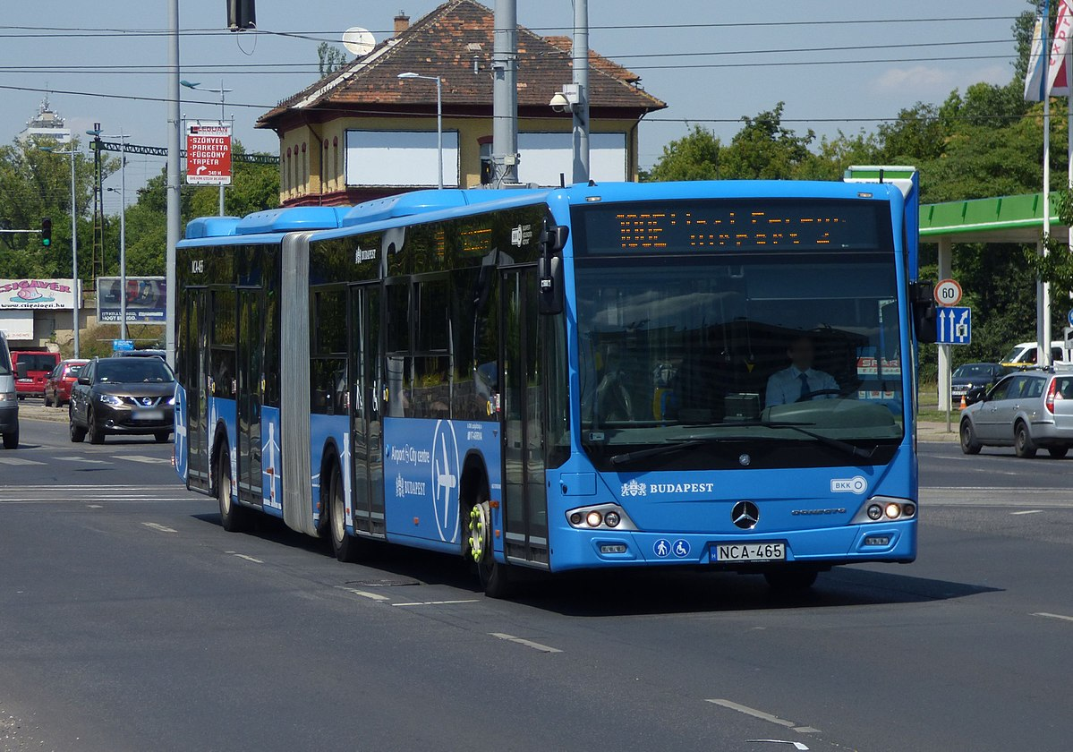 Extended Schedule For Bus 100E Serving Budapest Airport