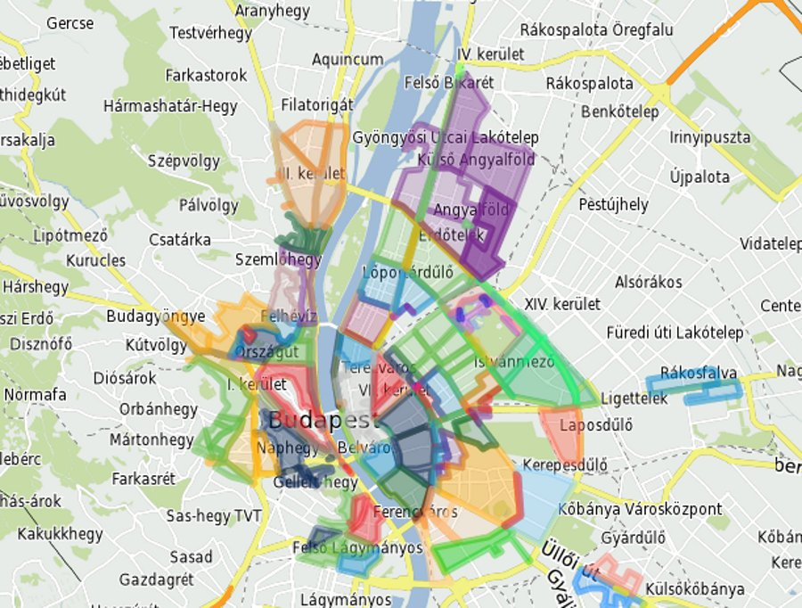 New Parking Zones In Budapest