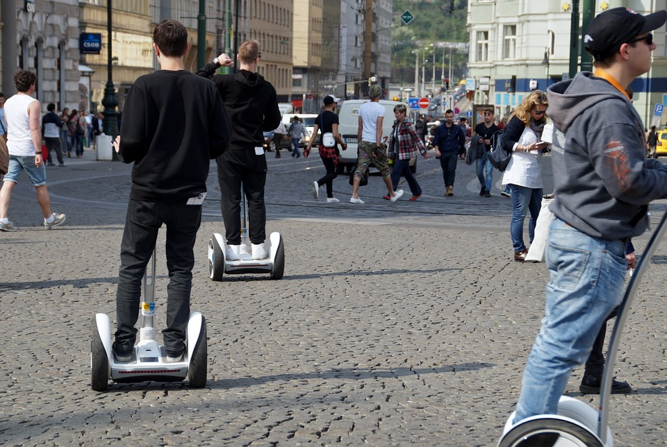 Video: 5th Dist Bans Segways, Rickshaws, Beer Bikes