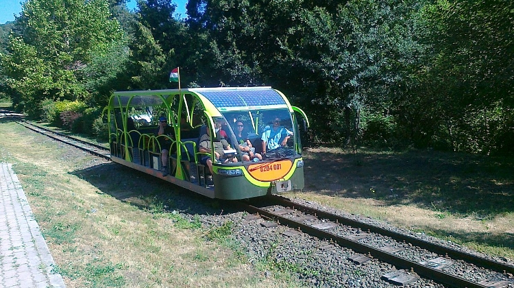 Solar-Powered Train Starts Running In Hungary