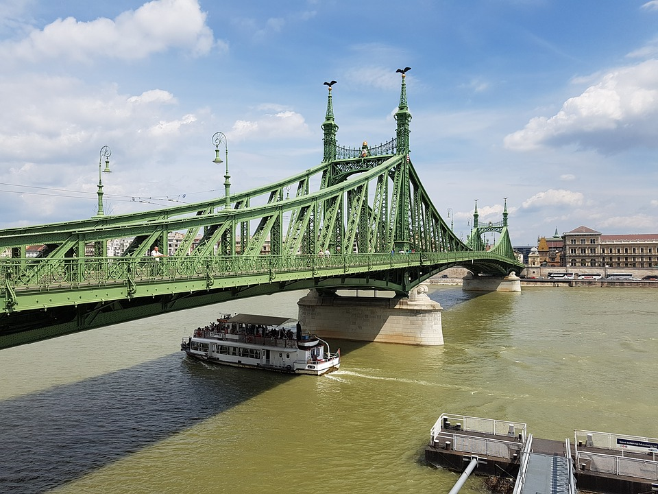 Liberty Bridge Closed For Picnic