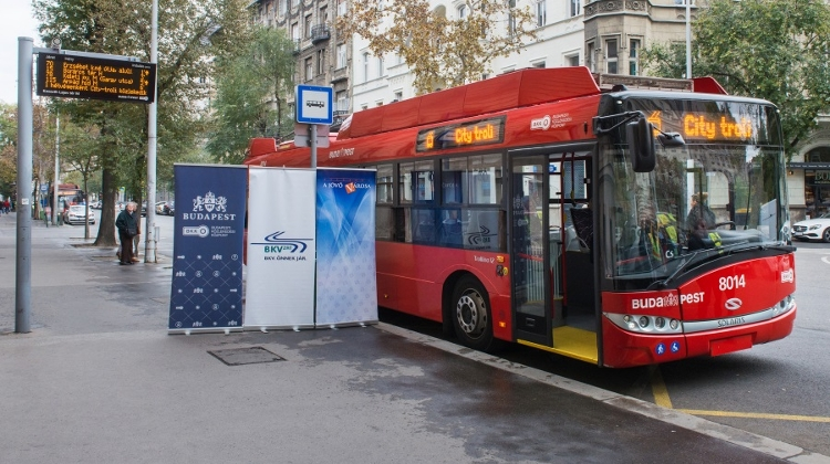 New Weekend Trolleybus To Operate In Inner Budapest