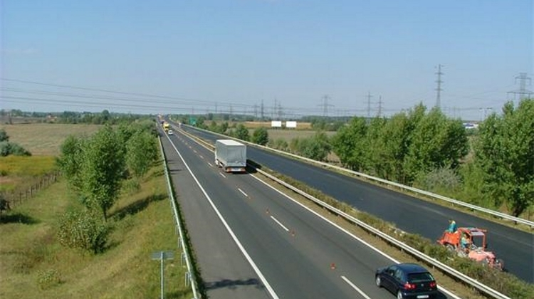 Roadworks On M1 Near Budapest Until August