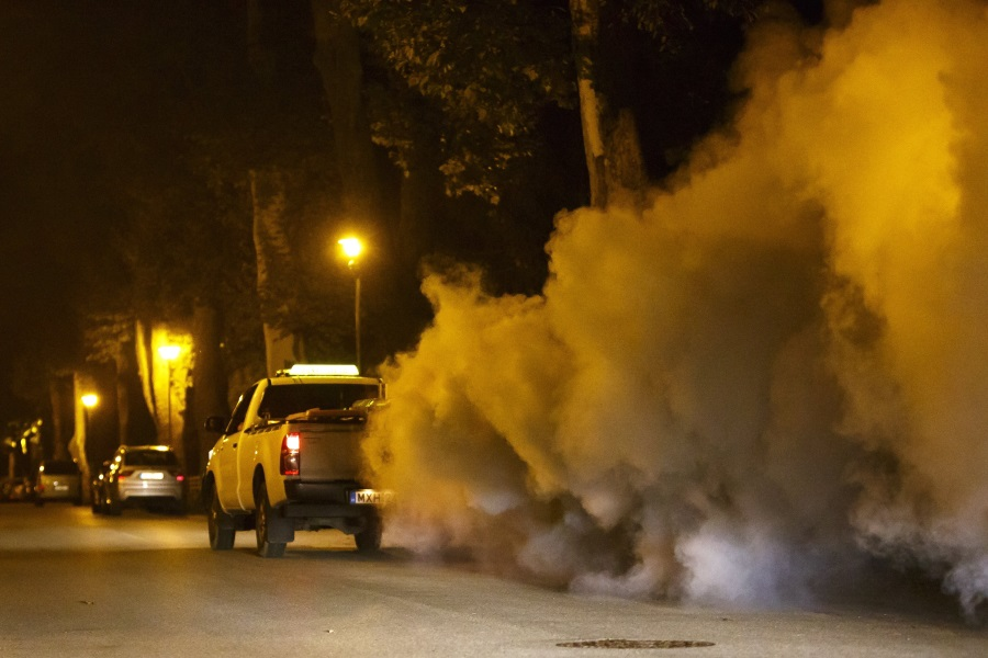 Mosquito Extermination In Hungary Under Way