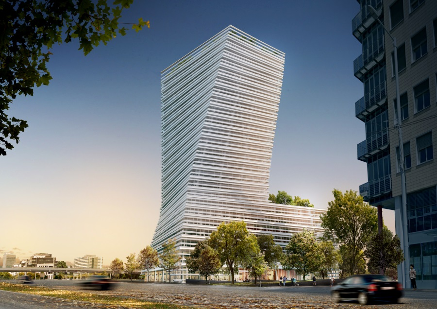 Budapest's First Skyscraper Granted Permit
