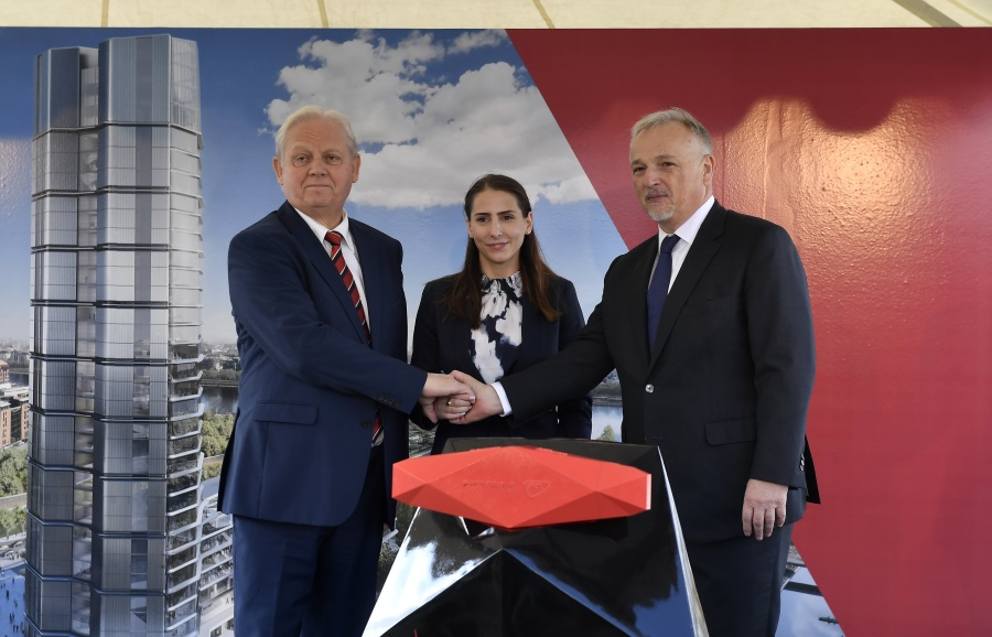 MOL Lays Cornerstone For New HQ In Budapest