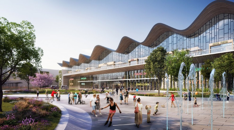 Campona Shopping Center In Budapest To Be Renovated