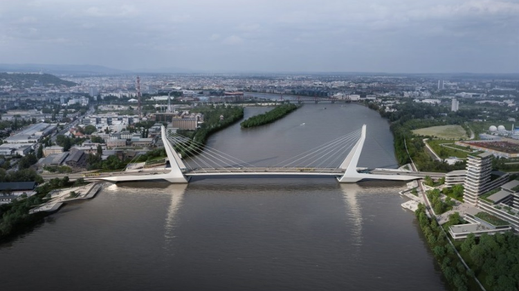 New Danube Bridge Unveiled