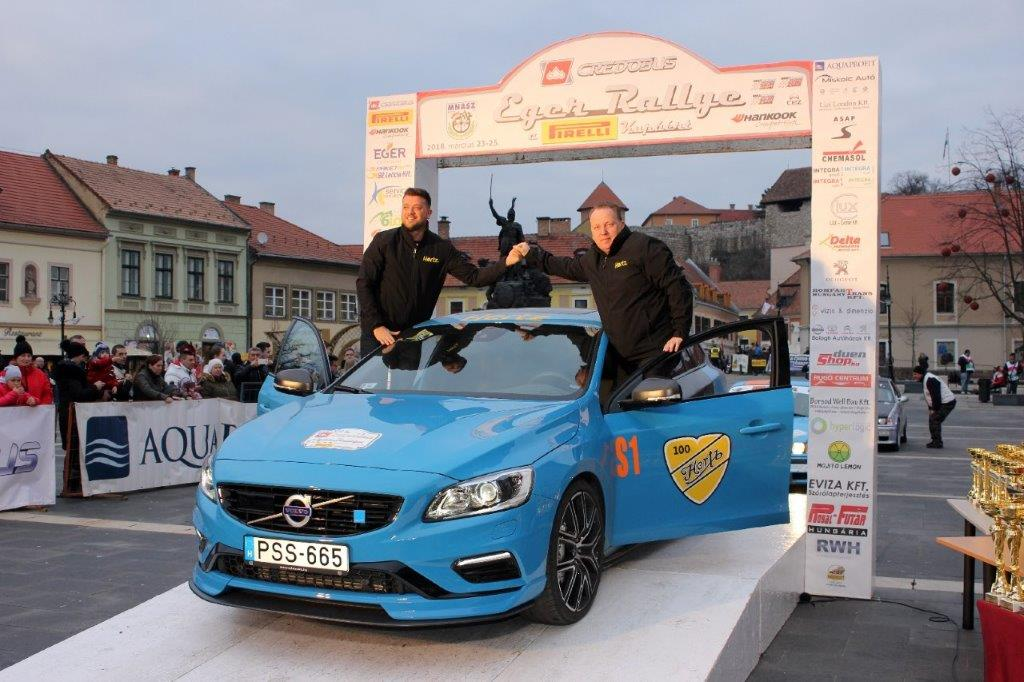 Hungarian Rallies Supported By Hertz