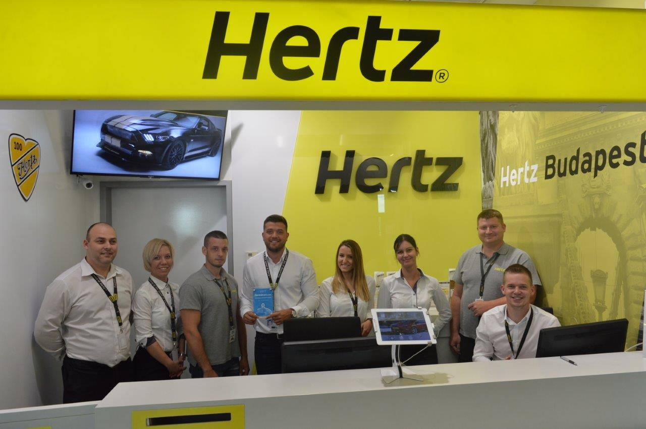 Hertz Car Hire Hungary Wins 'Customer Favourite Award'
