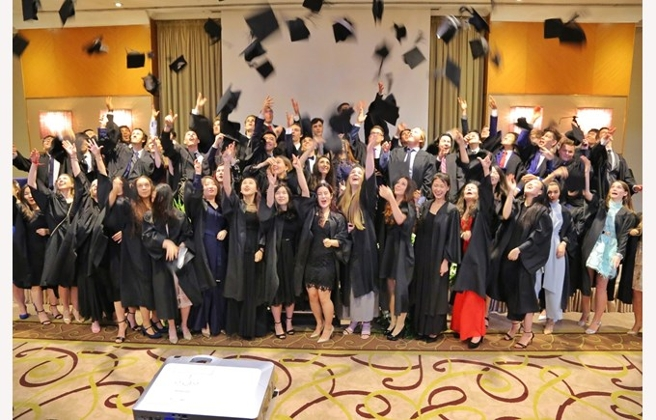 The British International School Budapest Graduation Ceremony 2018