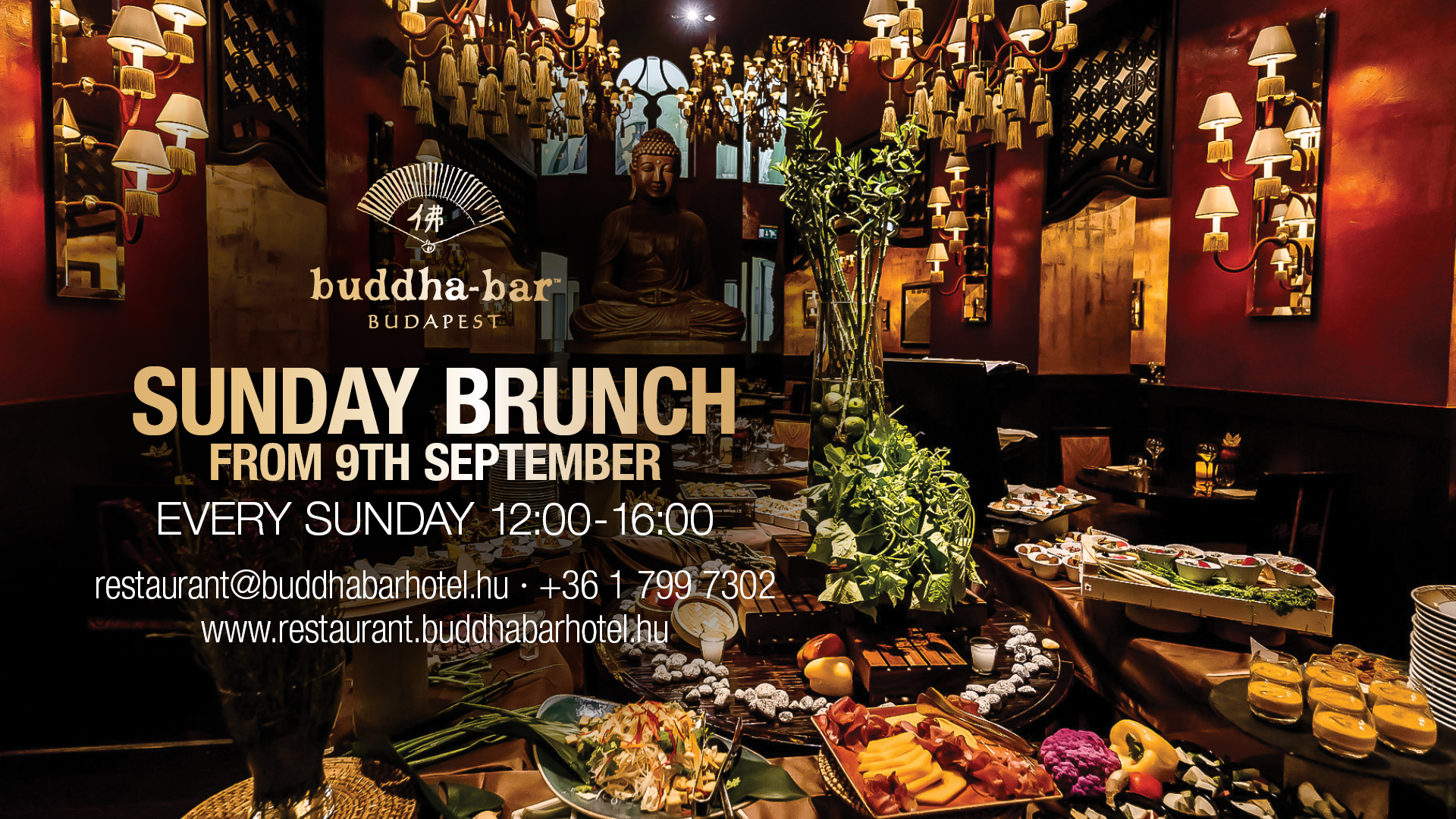 Asian Style Sunday Brunch Back Soon At Buddha-Bar Budapest
