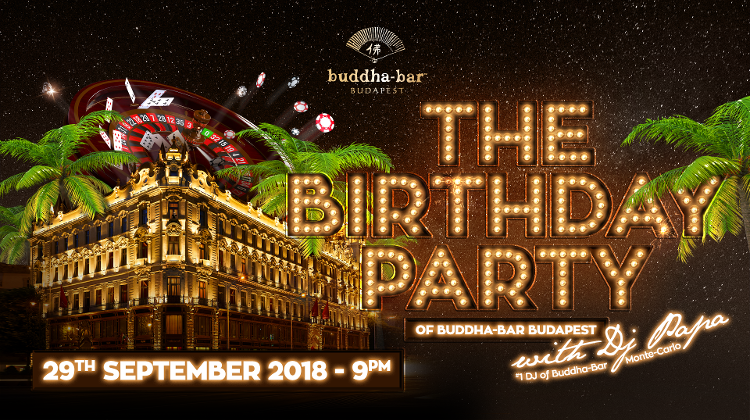 Buddha-Bar Budapest Birthday Party, 29 September