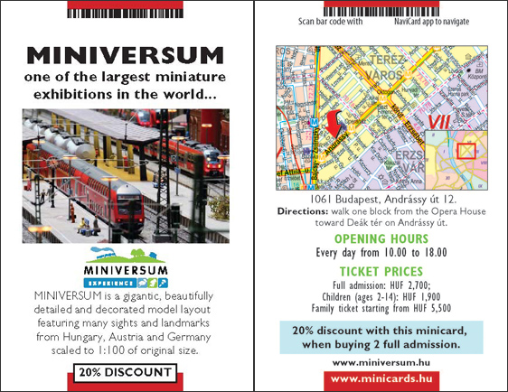 Visit Miniversum, 20% Discount With MiniCards