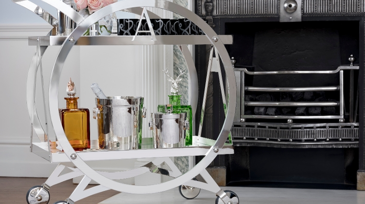 'Asprey's Travelling Drink Trolley' At The Ritz-Carlton, Budapest
