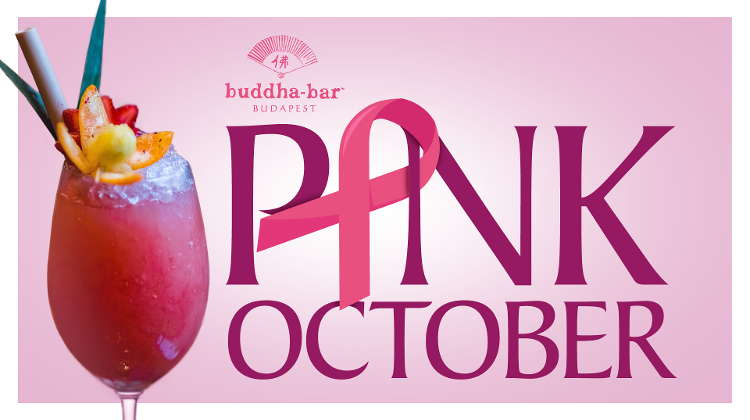 Buddha-Bar Hotel Budapest Joins Cancer Awareness Campaign In October