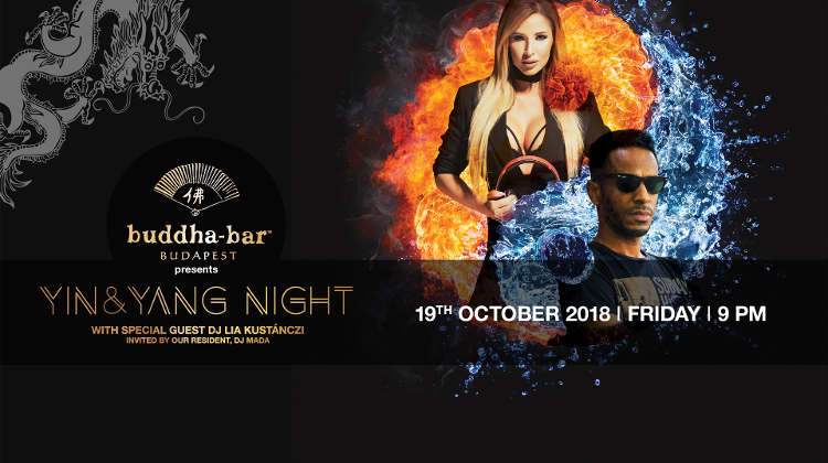 Yin & Yang Night With DJ Lia Kustánczi & DJ Mada, 19 October