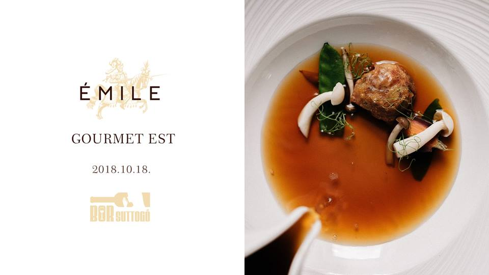 'Wine Whisperer' Gourmet Evening, Émile Restaurant Budapest, 18 October