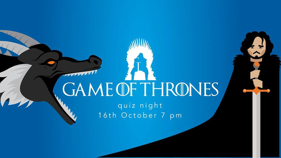 Hedon Quiz Night: 'Game Of Thrones', 16 October