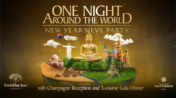 New Year's Eve Party @ Buddha-Bar Budapest