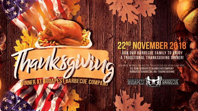 Thanksgiving Dinner, Budapest Barbecue Company, 22 November