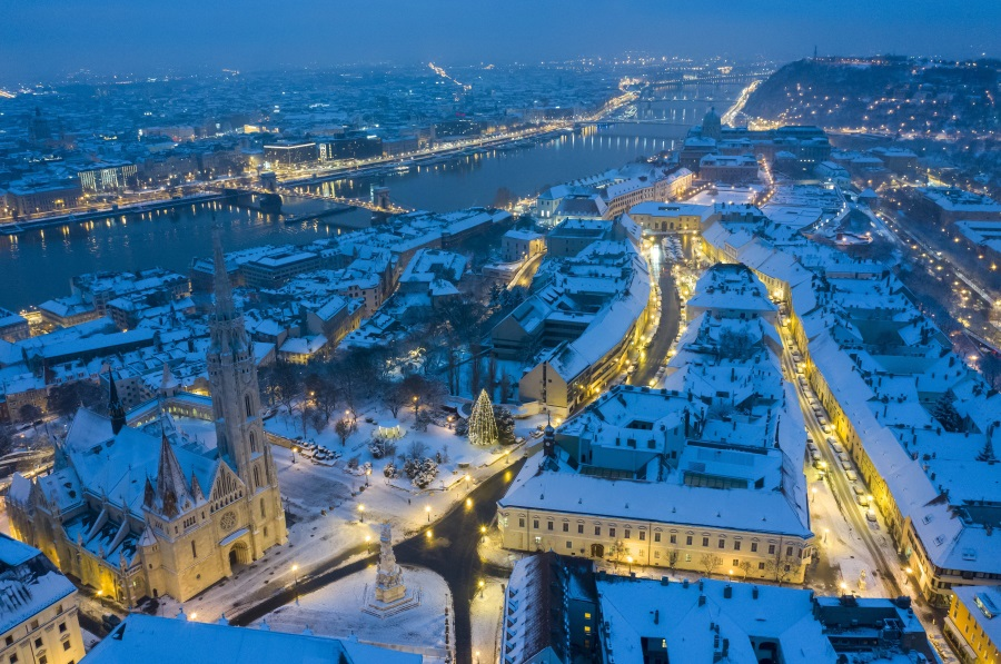 White Christmas In Budapest Becoming Unlikely